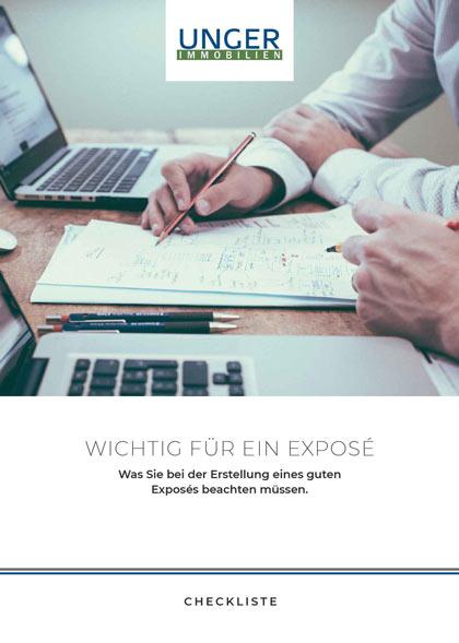 Checkliste - für ein gutes Exposé