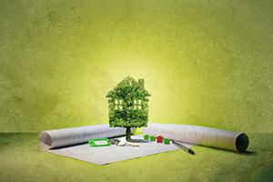 Ökologisches Einfamilienhaus
