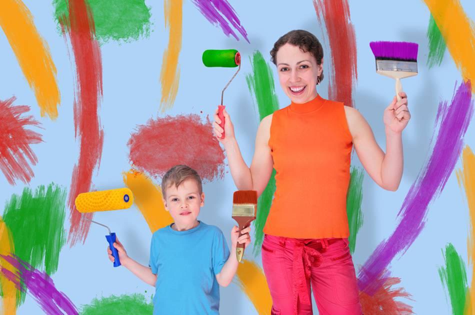 Zuhause ist … Farbe in sein Leben zu bringen
