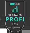 Siegel Immobilienscout Verkaufsprofi 2021