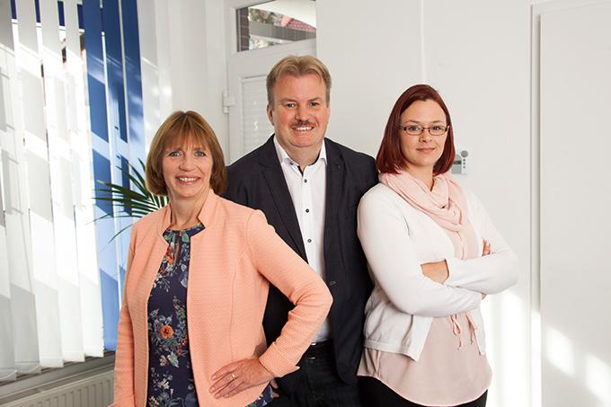TDV Immobilien (v.l.n.r.) - Alida Claußen, Thomas de Vries und Elisabeth Färber