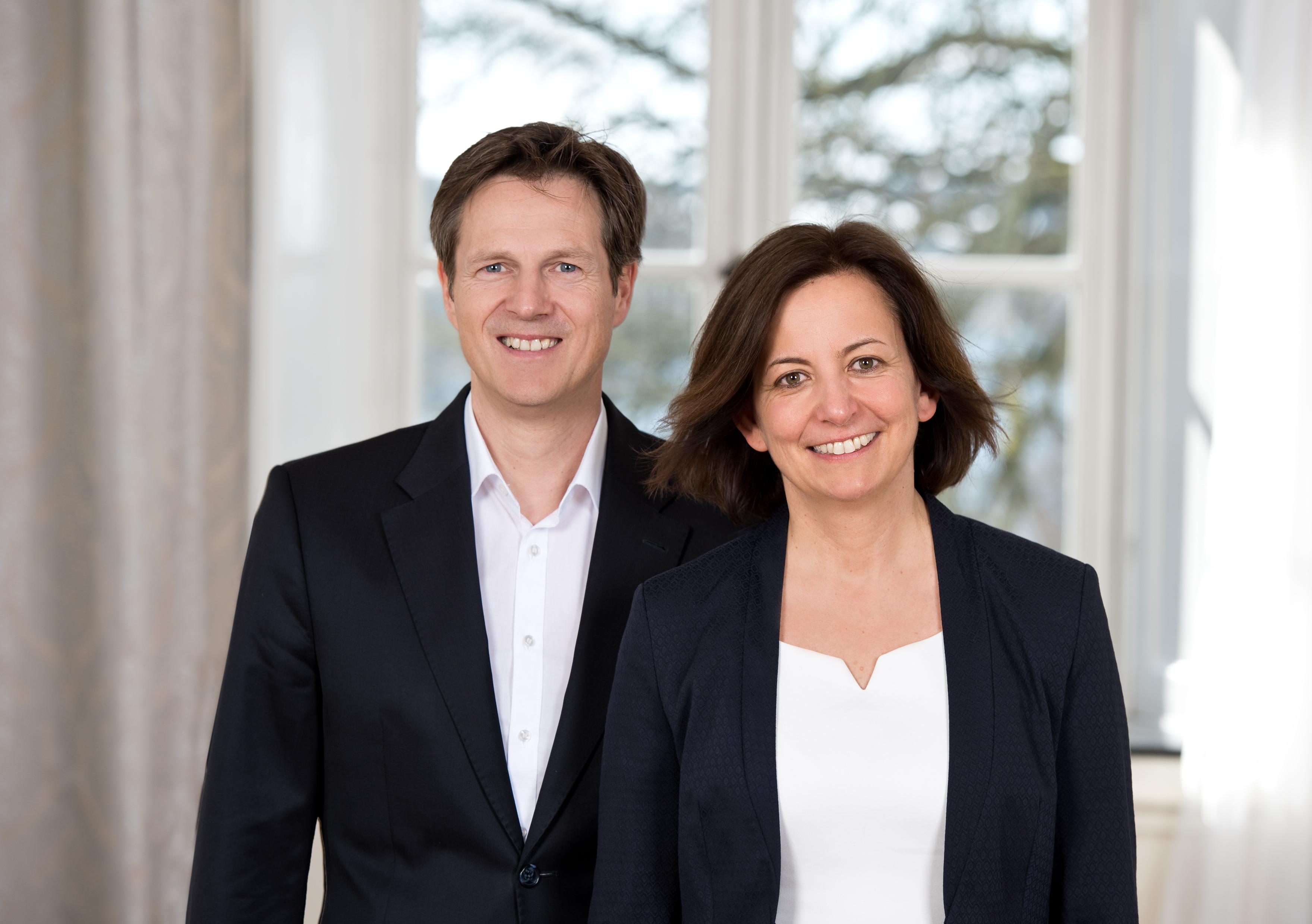 Ulrike Schulze und Ralf Frerix