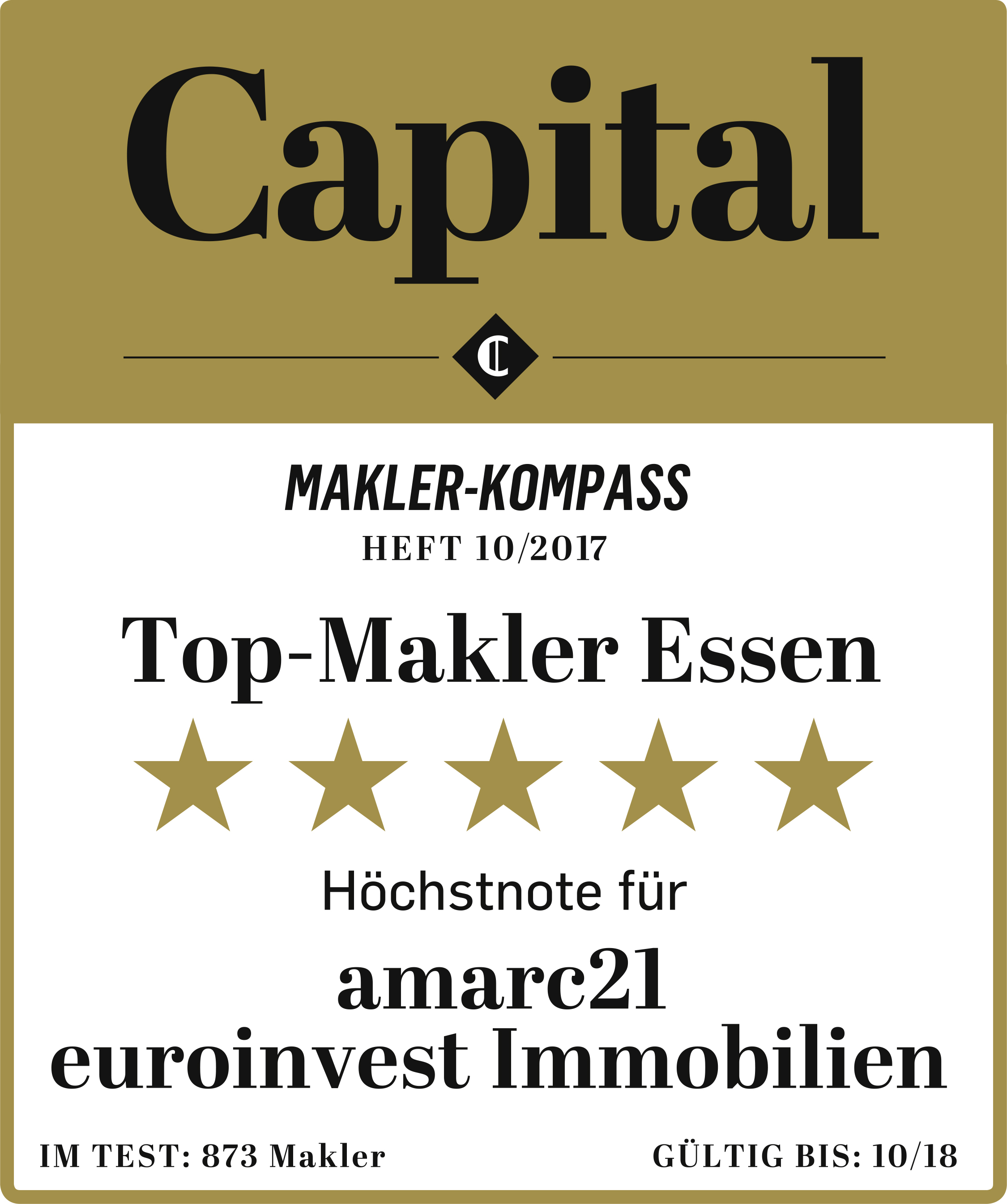 Capital - amarc21 Top-Makler Essen