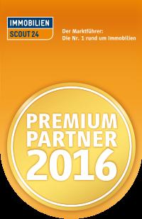 Premium Partner 2016 bei ImmobilienScout24