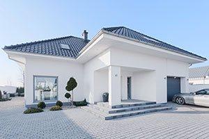 Helles Einfamilienhaus