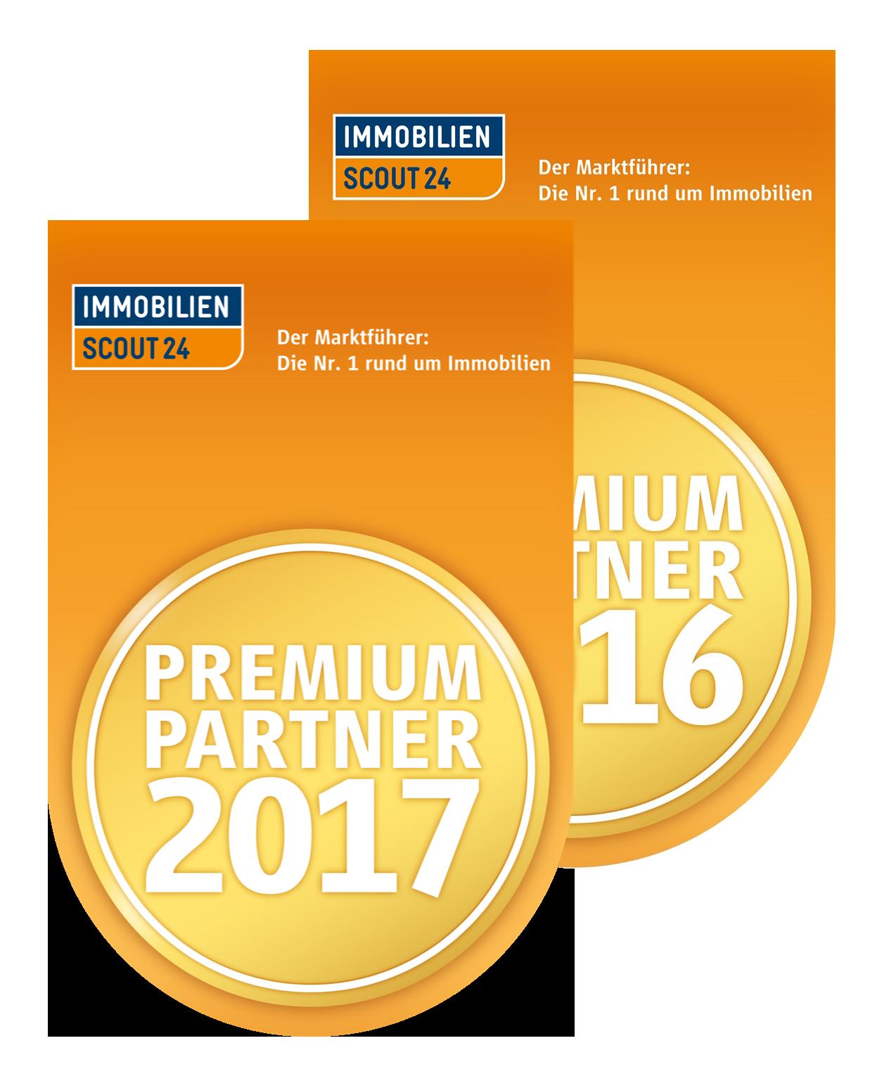 ImmobilienScout24 Premium Partner 2016 2017