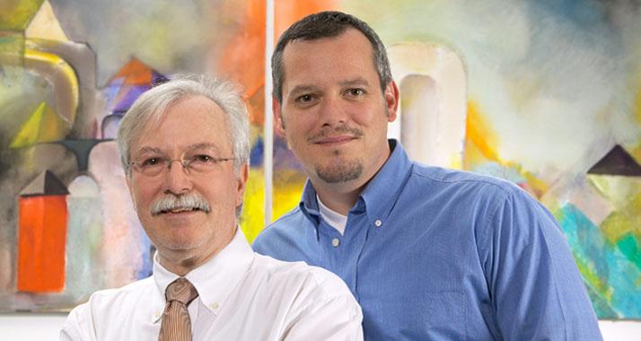 Hermann und Markus Gerhartz