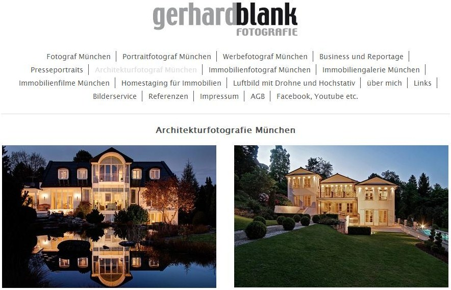 Gerhard Blank Fotografie