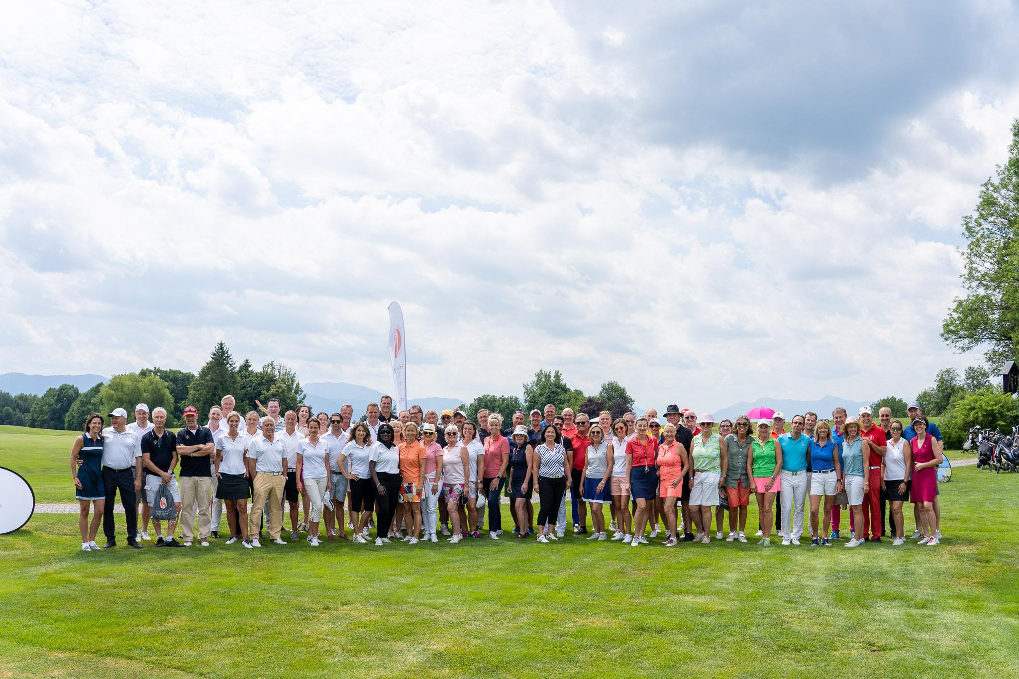Gruppenbild Charter & Share Charity Golf Cup