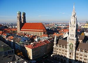 München Rathaus Frauenkirche