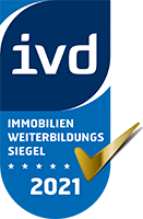 IVD Immobilien Fortbildungs Zertifikat 2021 Wolfgang Pauly Immobilien GmbH
