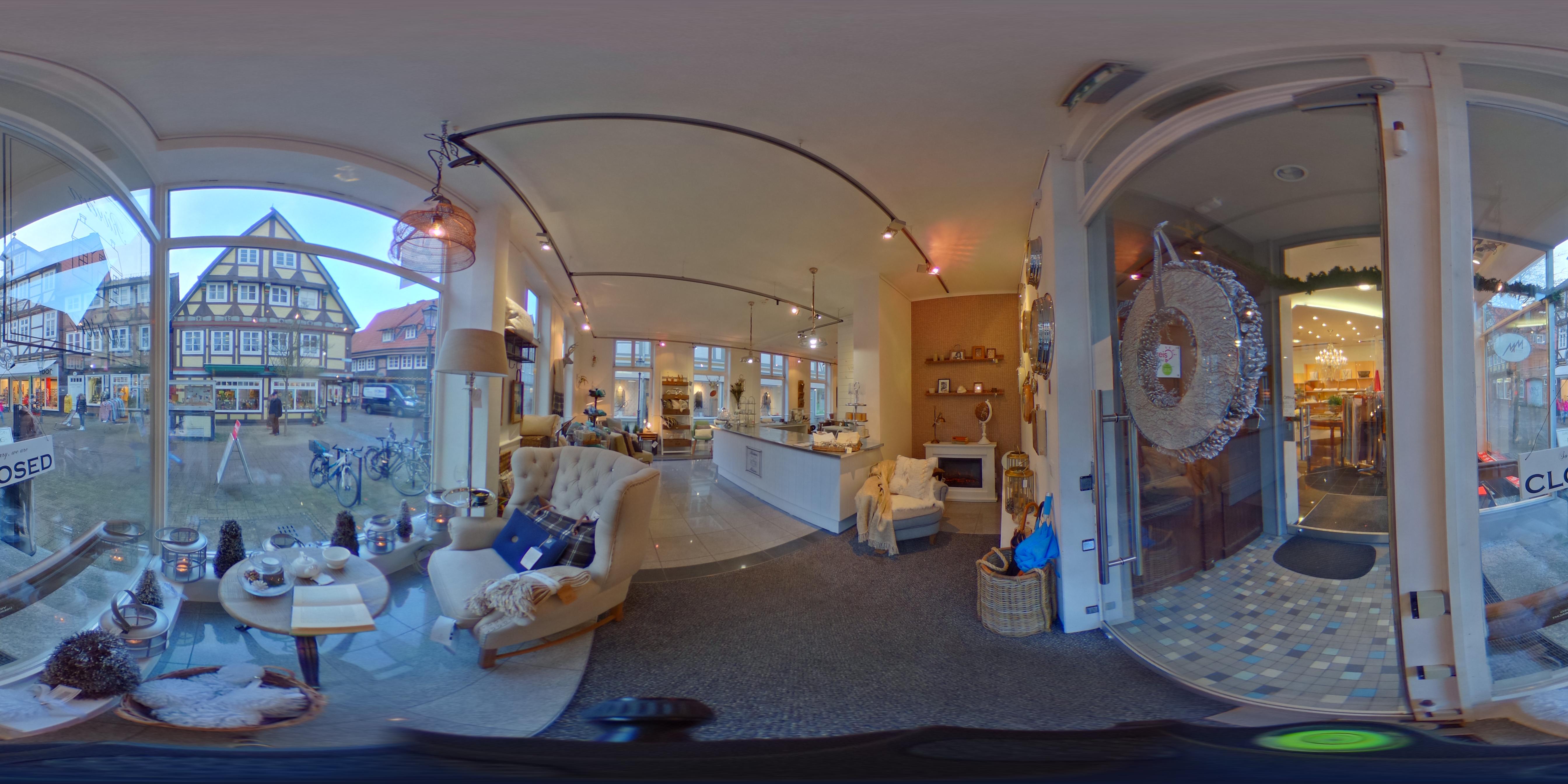 Virtueller Rundgang vierwände, Mauernstraße 47, Celle-Altstadt - Januar 2018